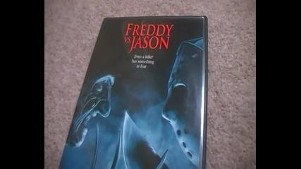 Фреди срещу Джейсън (2003) на D V D