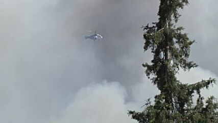 Turkey: Helicopters continue firefighting ops as Marmaris fire rages on