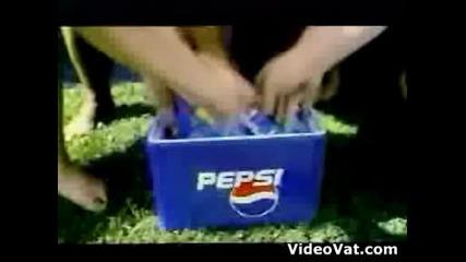 Сумо,  футбол,  пепси
