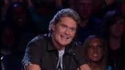 Момчето което накара публиката да замълчи America s Got Talent 2009