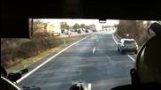 Как се дава път на пожарна кола в Германия