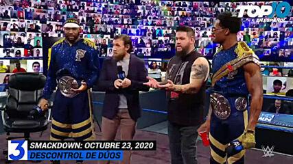 Top 10 Mejores Momentos de SmackDown En Español: WWE Top 10, Oct 23, 2020
