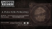 A Plea for Purging - A Fight for Peace