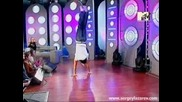 Сергей Лазарев в шоу на MTV