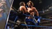 Ей Джей Стайлс vs. Барън Корбин: SmackDown LIVE, 18 Април 2017