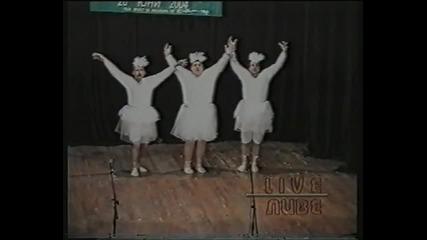 смях - музикална пародия - буфо - лебедово езеро (настъргалки+)