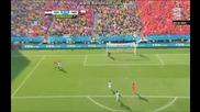 Холандия 2:0 Чили (бг аудио) Мондиал 2014