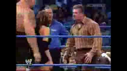 Zach Gowen And Stephanie Vs Big Show