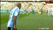 12.06.10 Argentina 1:0 Nigeria / Аржентина 1:0 Нигерия Гол на Heinze