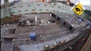 В 3 мин. изграждане и пускане в движение на презокеански корабен лайнер