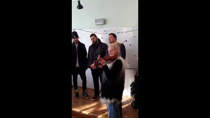 Невена Пейкова и първи урок по цигулка като част от Фортисимо клас - X Factor