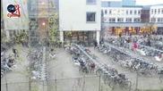 Така холандските ученици идват на училище