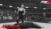 Top 10 Mejores Momentos de RAW: WWE Top 10, Ago 2, 2021