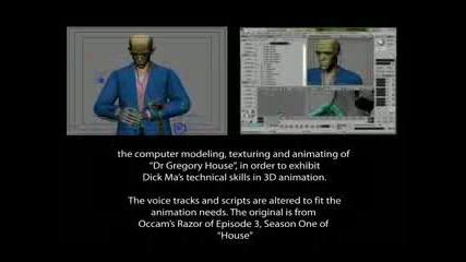 Animation - Dr. Greg House (v2)