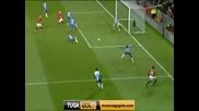Манчестър Юнайтед - Уигън 4:0 Димитър Бертбатов с гол