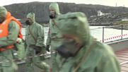 Russia: Nuclear submarine holds radiation response drills in Murmansk