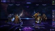 Heroes of the Storm игра #1 - NoThx & Miffzy коментират