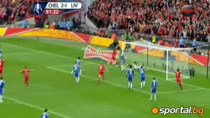 Челси триумфира над Ливърпул и вдигна седма Купа на Англия