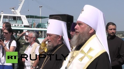 Russia: Holy procession marks start of Baptism of Rus' celebrations