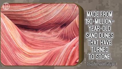 10 забележителни геологически формирования