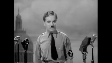 Charlie Chaplin final speech in The Great Dictator