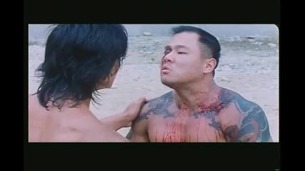 fight scene from story of riki