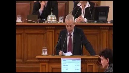 Водно шоу и простащина в българският парламент