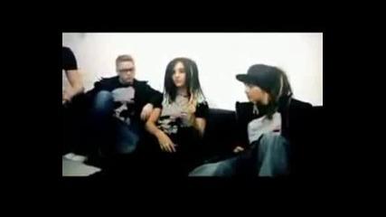 Tokio Hotel - H&m Fashion Against Aids Interview (2009