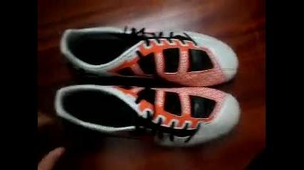 Nike Total 90 laser 3 white/orange