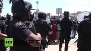Сблъсъци в Сан Куентин (Мексико) след като полицията влиза неправомерно в къща