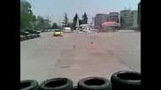 Nissan форсира пред зала Фестивална в София