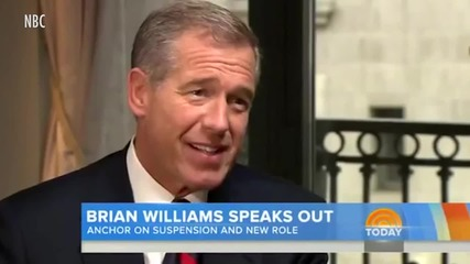 """Brian Williams Breaks Silence in First Interview: """"I Said Things That Weren't True"""""""