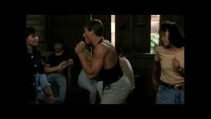 Van Damme Kickboxer Dance Hilarious Remix