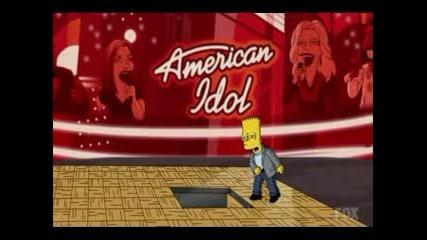 Z Симпсънс - Пародия На American Idol C