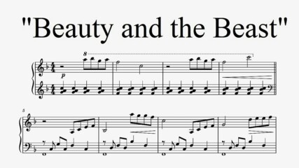 """""""Beauty and the Beast"""" - Disney (Piano Cover)"""