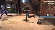 Разиграване на Team Fortress 2 Deathmatch