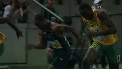 Юсеин Болт шокира света с световен рекорд - 9.58