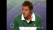 Wimbledon 2008 : Сафин след победата над Джокович