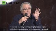 Robert De Niro Calls for an End to US-Russia Bullsh*t