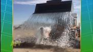 Компилация на най-смешните и несполучливи опити! ''ice Bucket Challenge''