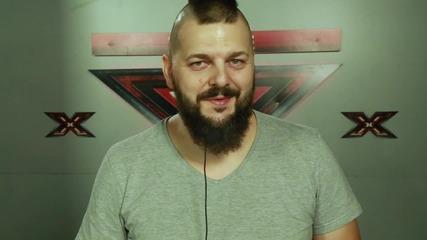 X Factor зад кулисите: Георги Бенчев с парче - метъл кавър на Майли Сайръс