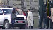 Пристигане на Бил Клинтън в София, 22.11.1999