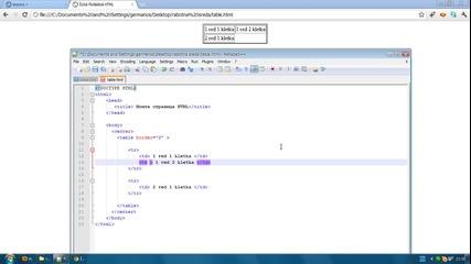 Html за начинаещи Урок 5 - правене на сайтове