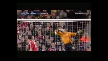 Liverpool - Porto (4 - 1) Lisandro Lopez