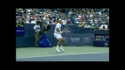 Roger Federer - Air Forehands