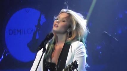 20.07. - Demi Lovato Catch Me (споменава Адам Ламбърт) Endfest Sacramento