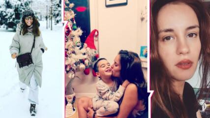 Коледната магия завладя дома на Радина и Деян, в трепетно очакване са на чудото