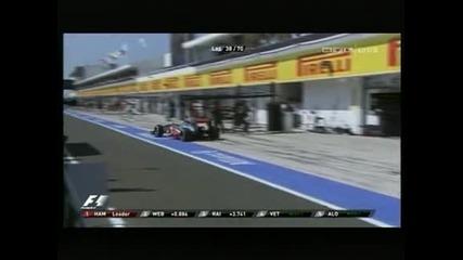 """Хамилтън спечели първата си победа с """"Мерцедес"""" в Гран при на Унгария"""