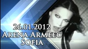 Tarja Turunen - live in Arena Armeec, Sofia by Loud Concerts - 26.01.2012