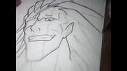 Drawing Kenpanchi Zaraki